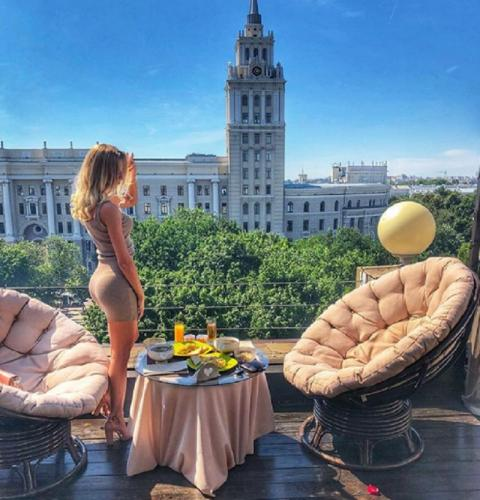 В Воронеже показали чудо-место для свиданий