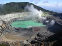 В Сети появились кадры, как вулкан на Гавайях за 90 минут испарил озеро