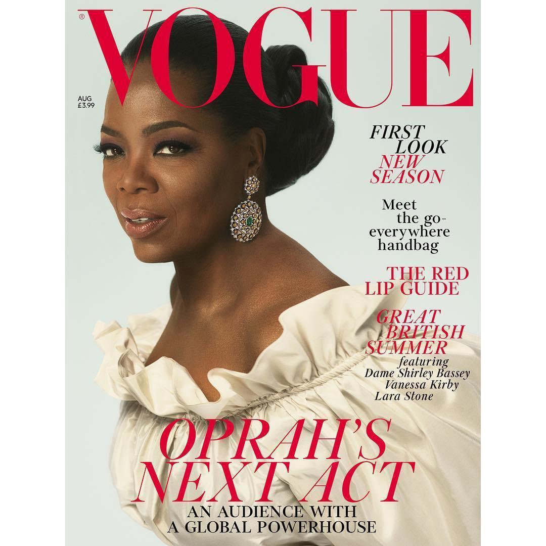 Картинки по запросу Опра Уинфри снялась для Vogue 2018