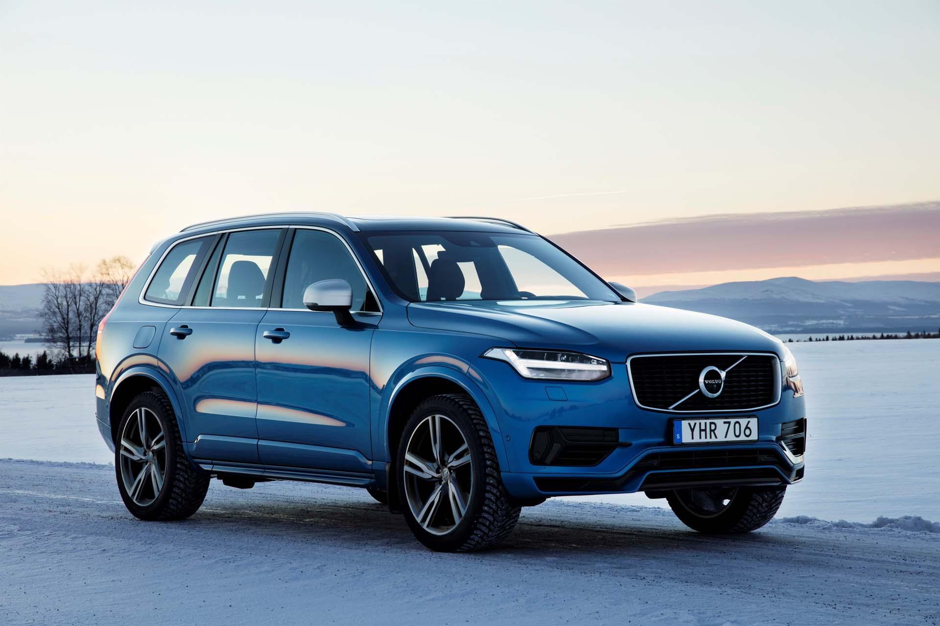 Volvo XC90 третьего поколения получит электромотор