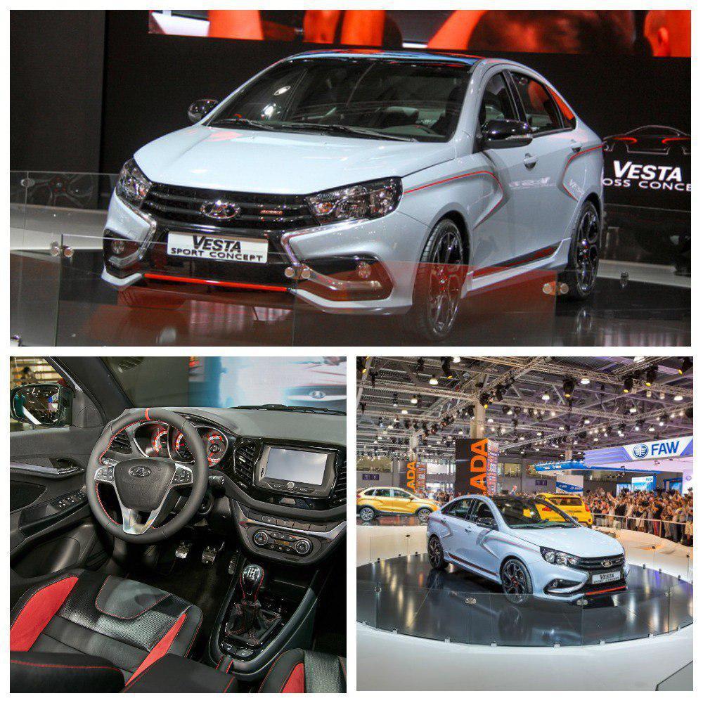 В августе на Московском международном автосалоне АВТОВАЗ представит LADA Vesta Sport