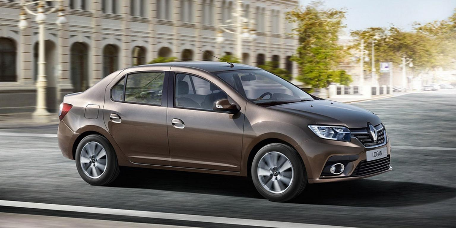 Renault представил обновленные Logan и Sandero для России