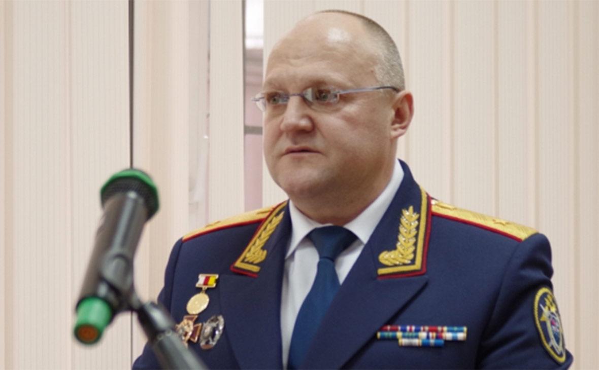 СМИ докладывают озадержании экс-начальника московского главка СКР Александра Дрыманова