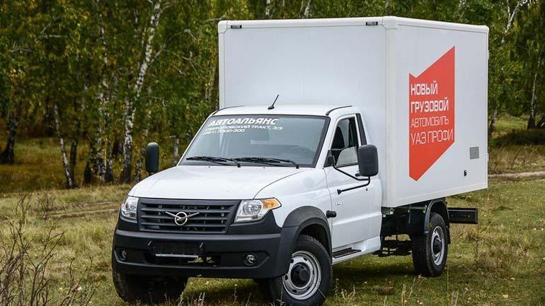 УАЗ «Профи» предложат вновом кузове