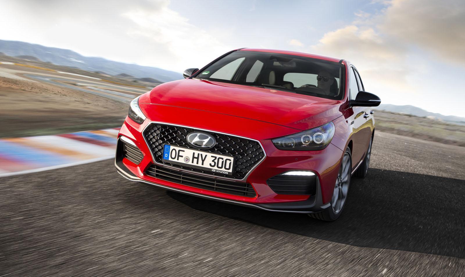Hyundai представил модернизированный i30 NLine
