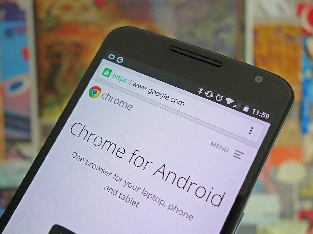 Пользователям Android будет доступен обновлённый мобильный браузер Chrome