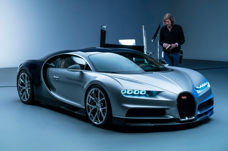 Bugatti отзывает 2 экземпляра гиперкара Chiron