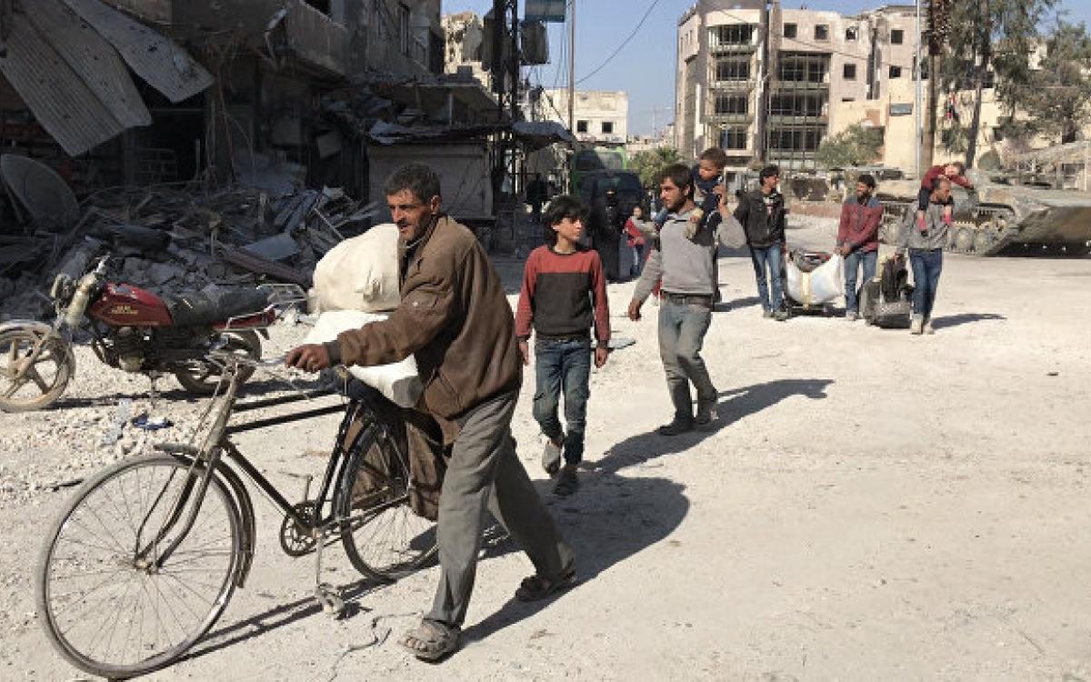 ВСирию изЛивана вернулись 300 беженцев