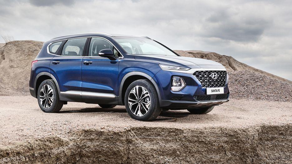 Новый Hyundai Santa Fe: версии для России