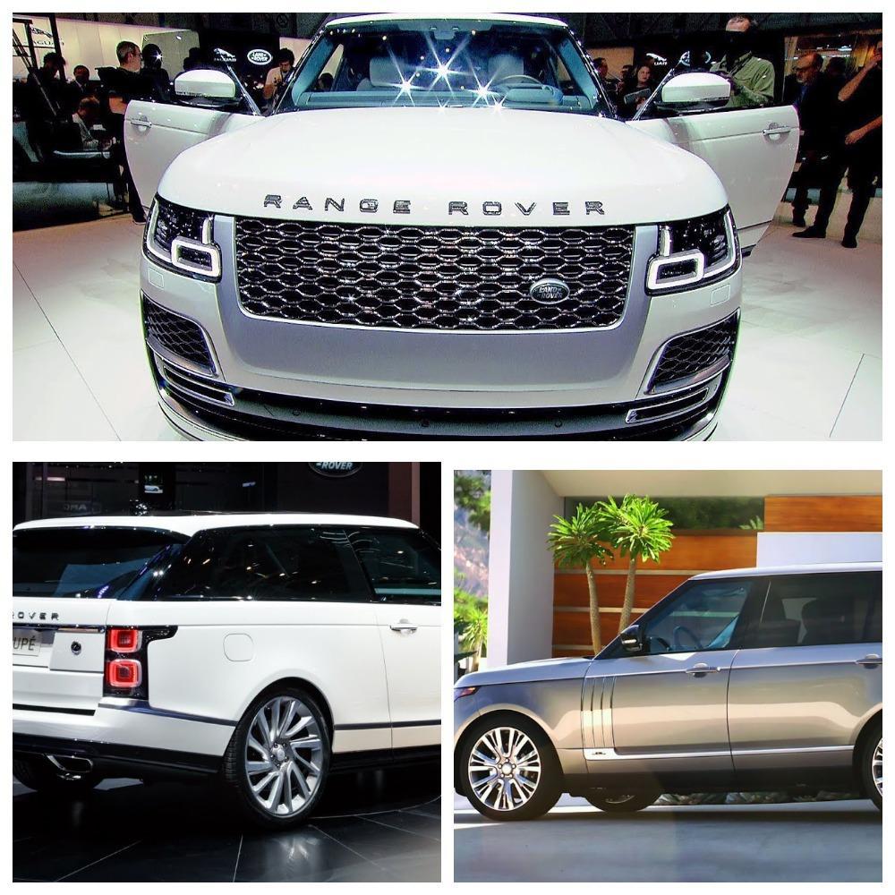 Компания Ленд-Ровер представила улучшенный Range Rover