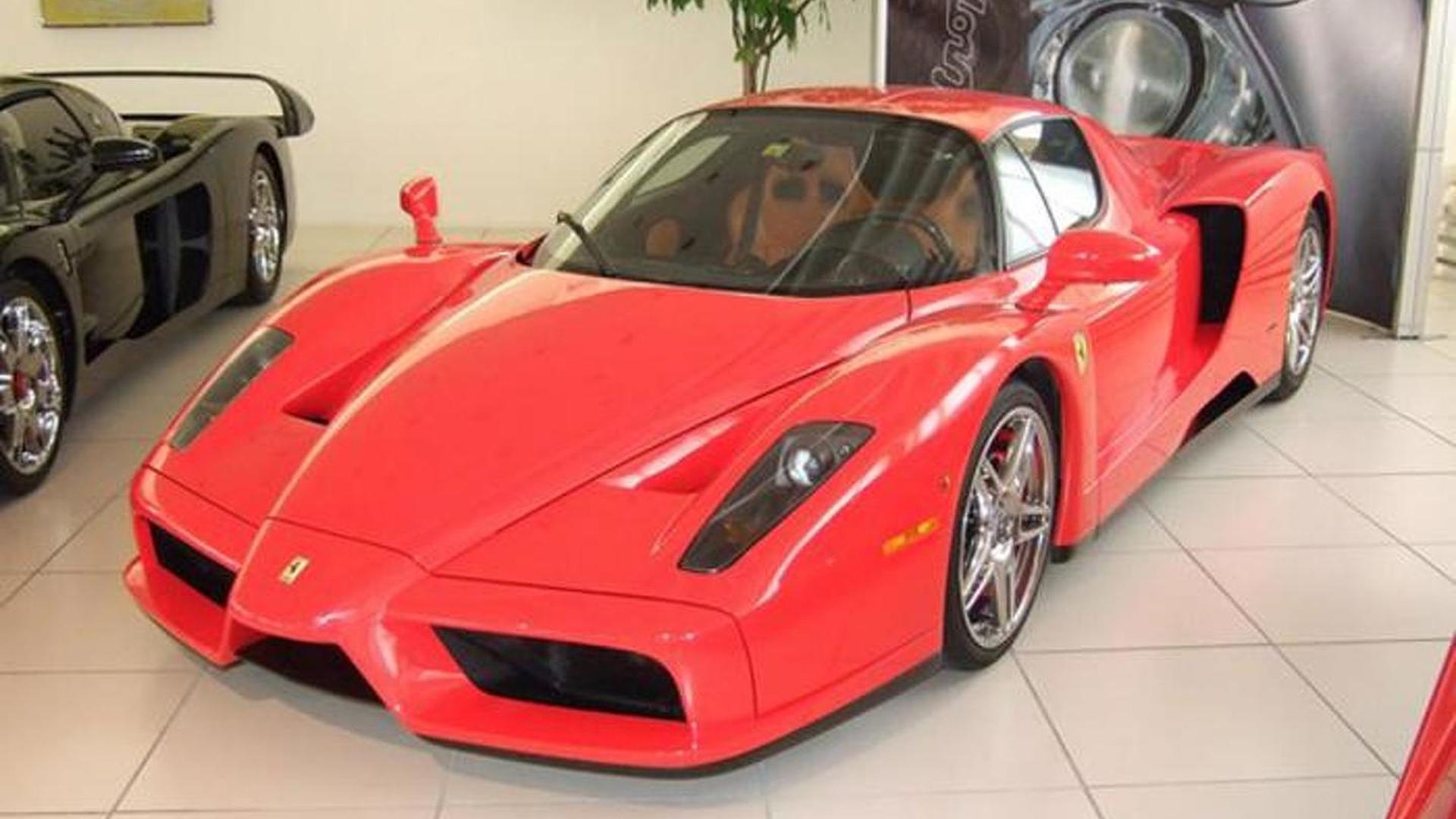 Ferrari Enzo Михаэля Шумахера опять выставили на продажу