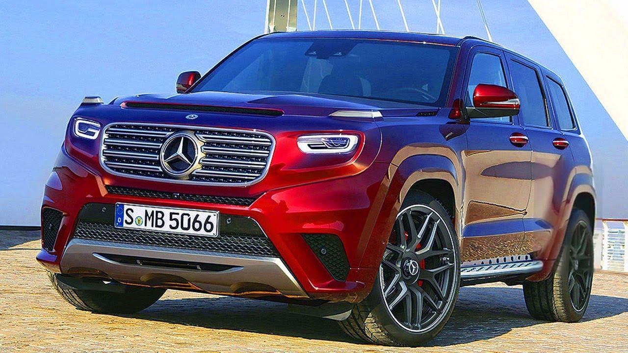 Benz выпустит конкурента Range Rover Sport