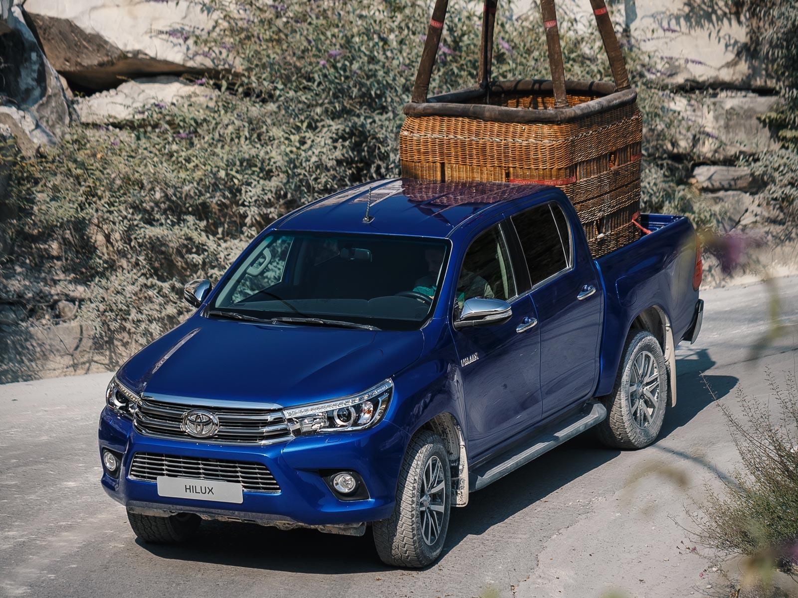 Тойота Hilux уступила лидерство на русском рынке пикапов