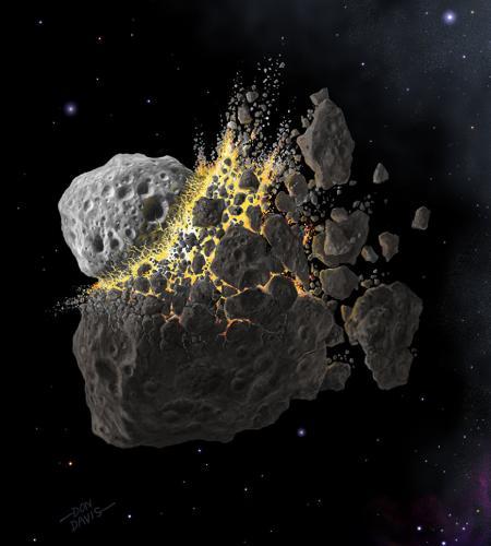 Астрономы: Все упавшие на Землю метеориты прибыли с 5 мега-астероидов