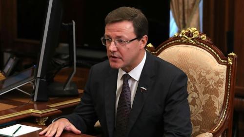 Глава Самарской области Дмитрий Азаров: никто не упрекнет игроков за результат
