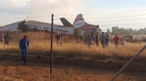 В ЮАР потерпел крушение самолет: 21 пассажир пострадал