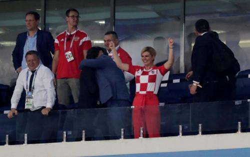 Президент Хорватии на русском языке поблагодарила Россию за Мундиаль