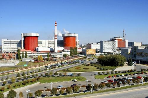 Южно-Украинская АЭС остановила первый энергоблок