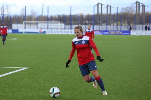 В Беларуси умерла чемпионка России по футболу Юлия Борисенко