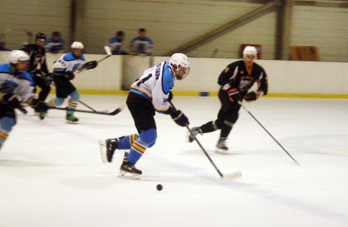 Погиб украинский хоккеист «Днепра»