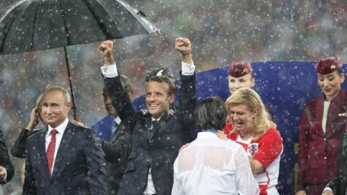Лидер Хорватии на ЧМ не заметила дождя, когда увидела глаза капитана национальной сборной