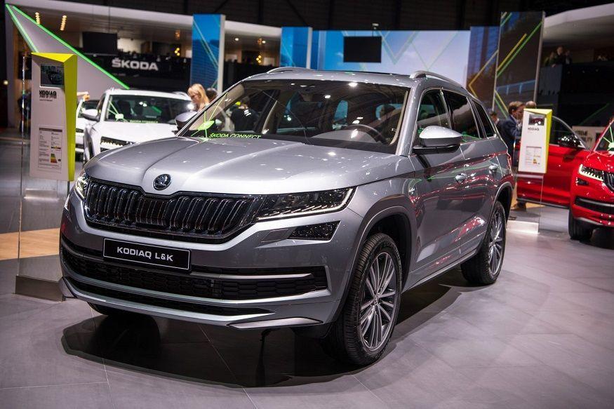 Модель Skoda Kodiaq L&K появилась на российском рынке