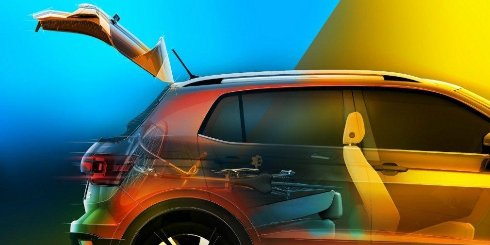 В VW рассекретили салон нового T-Cross