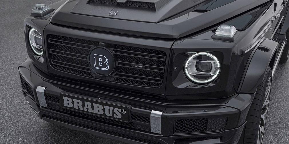 Brabus сделал новый Mercedes G-Class 500-сильным