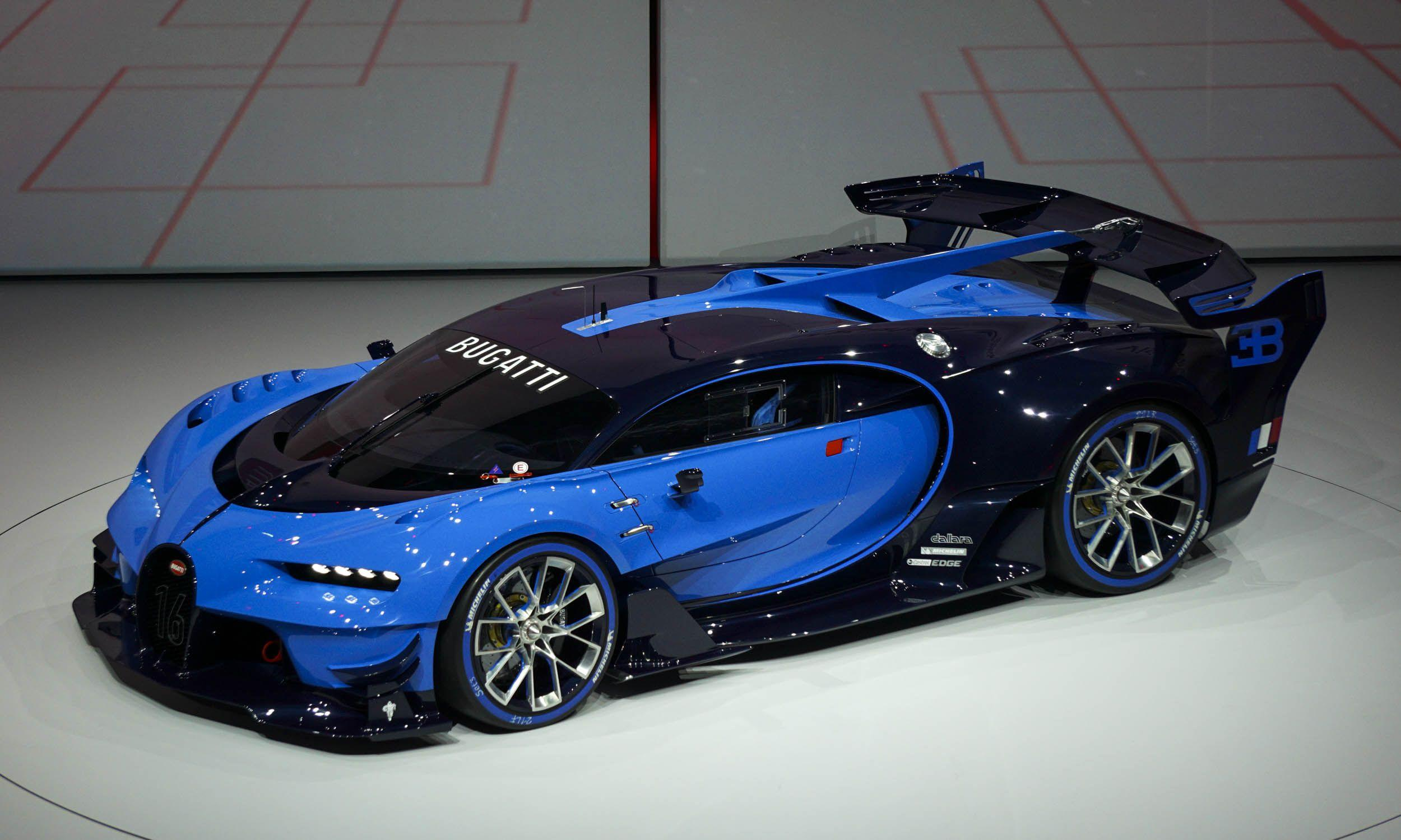 newest bugatti concept - HD 2500×1500
