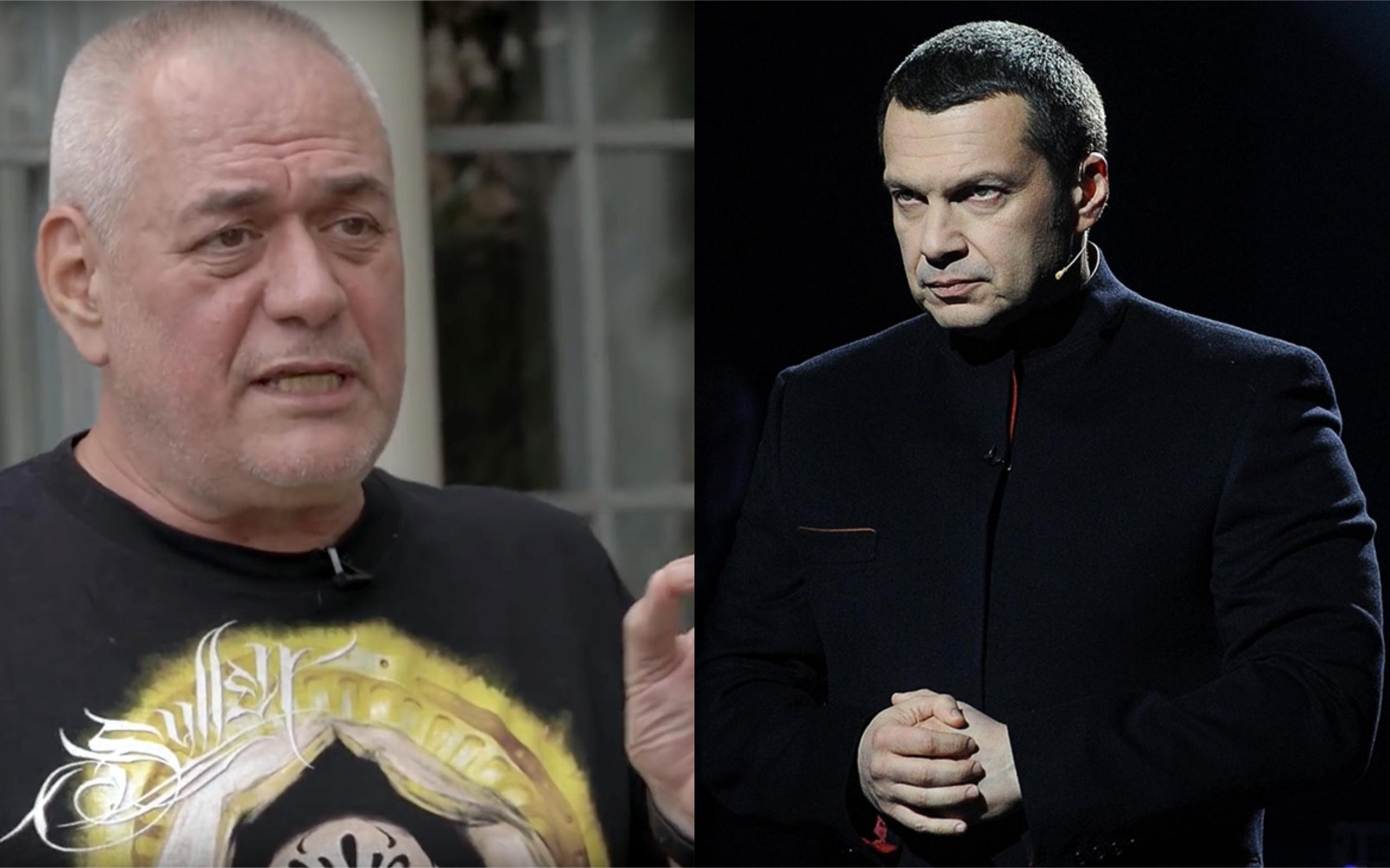 Доренко назвал Соловьева «забавным говнюшонком»