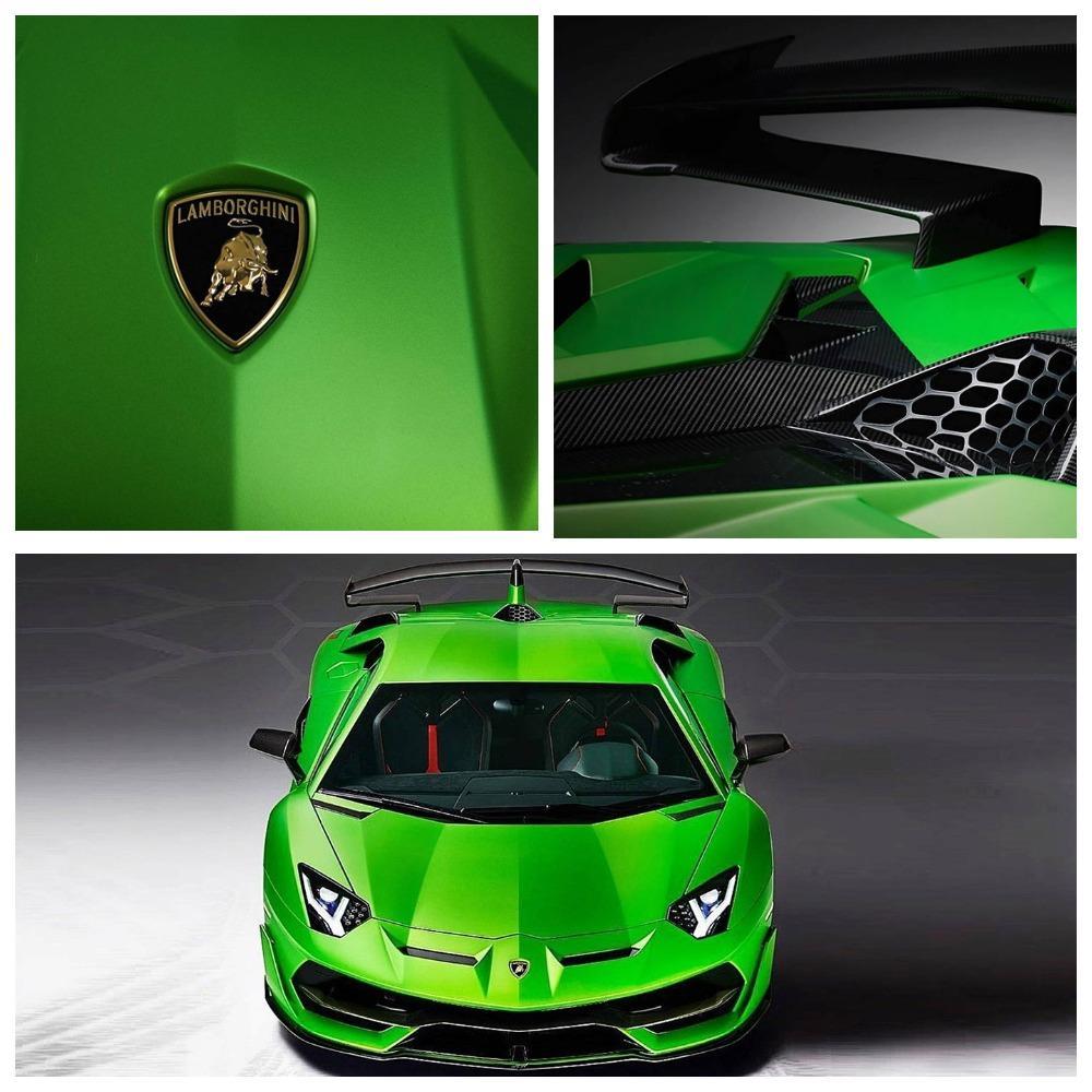 Дизайн Lamborghini Aventador SVJ рассекретили в Инстаграм