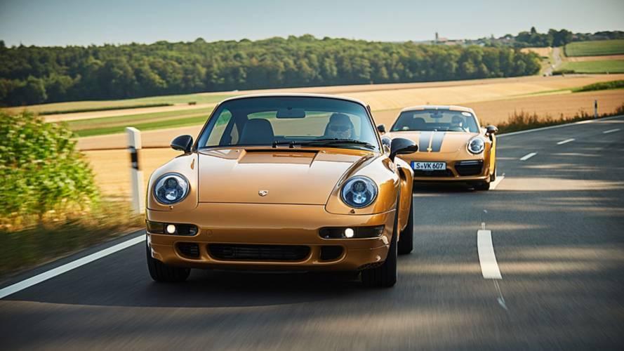 Porsche показала особое купе 911 Project Gold