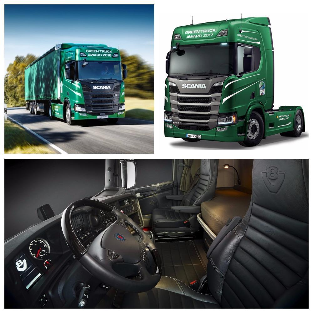 Бренд Scania выпустит серию «зеленых» тягачей