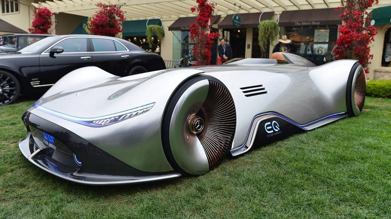 Mercedes создал суперсовременный электрокар в стиле 1930-х