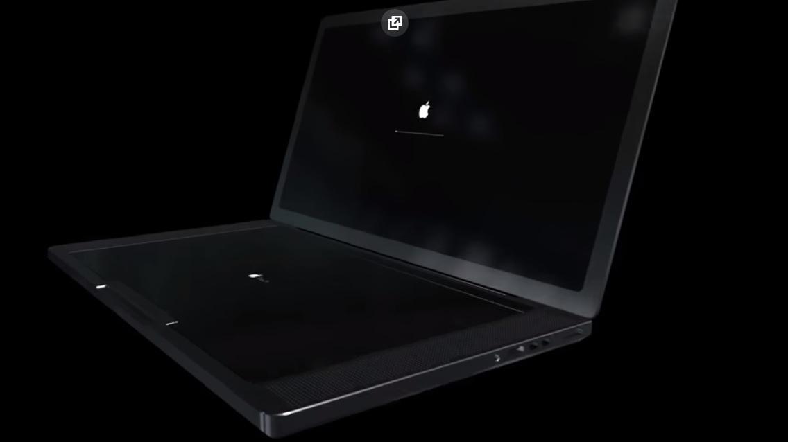 Появилось видео концепта нового MacBook Pro согромным тачскрином