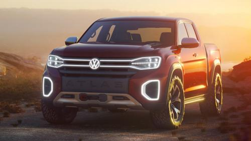 Volkswagen will release a large pickup truck