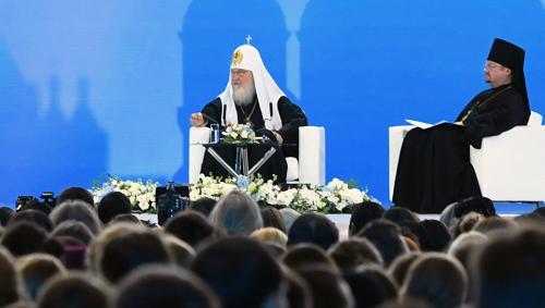 Участники III Международного православного форума пообщаются с Патриархом Кириллом
