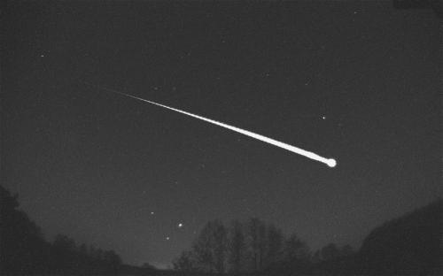 Над Ростовом пролетел гигантский «голубой метеорит»