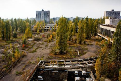 Британские музыканты сняли клип в районе Чернобыльской АЭС