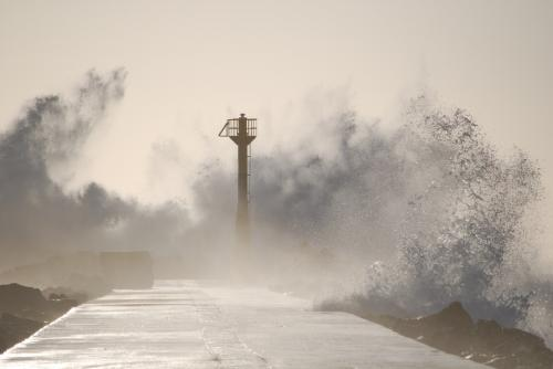 Тайфун «Румбия» погубил маленького китайца в провинции Цзянсу