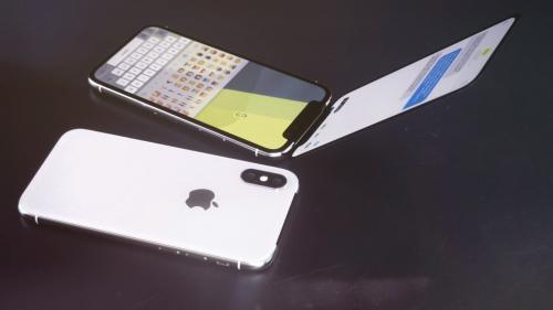 «iPhone X для бабушек»: Apple заподозрили в создании смартфона-раскладушки