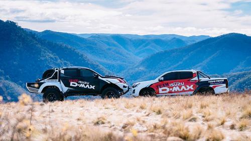 Isuzu представил экстремальные внедорожник и пикап Concept X в Мельбурне