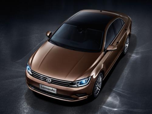 Немцы готовят к выпуску 4-дверное купе Volkswagen Lamando