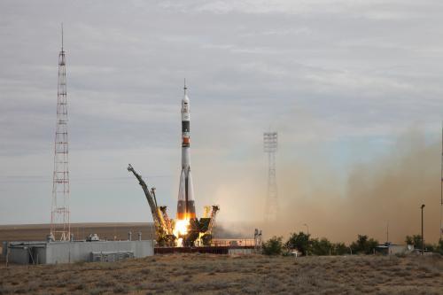Космодром из космоса: Олег Артемьев продемонстрировал виды Байконура с борта МКС