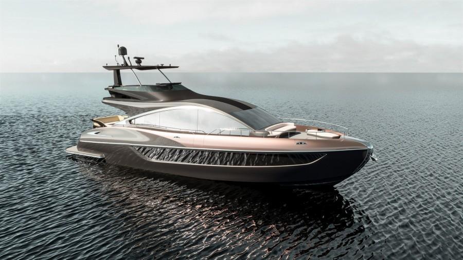 4-м флагманом марки Лексус стала шикарная яхта