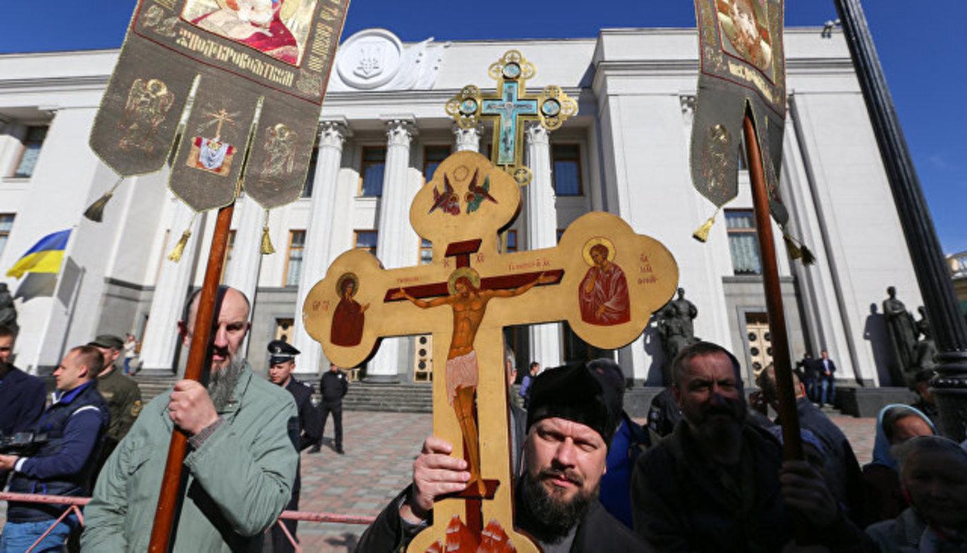 Без США никак: Госдеп поддержит раскол украинской религиозной общественности