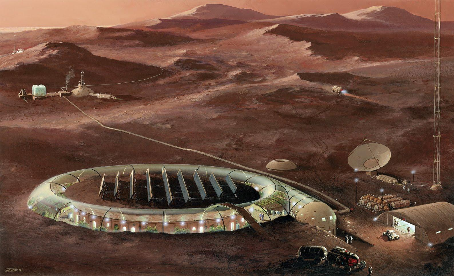 martian helicopters human colonies and drilling for - HD1587×964