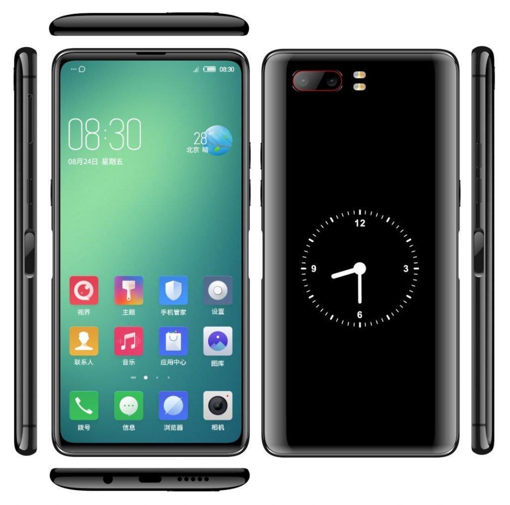 Размещено видео нового телефона ZTE Nubia Z18S с 2-мя экранами
