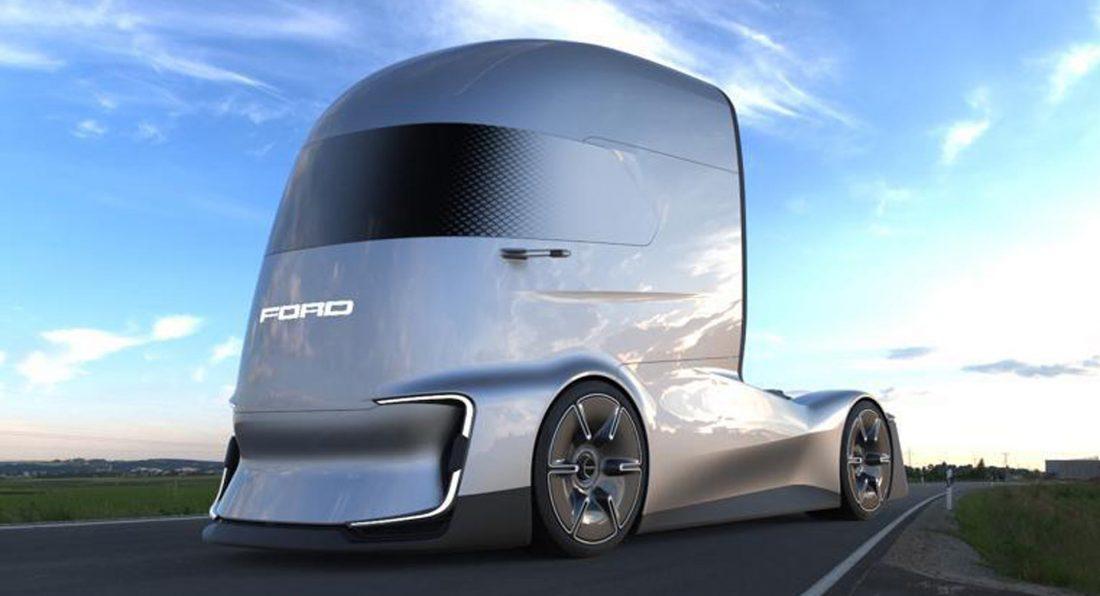 Форд продемонстрировал «убийцу» электрического грузового автомобиля Tesla Semi