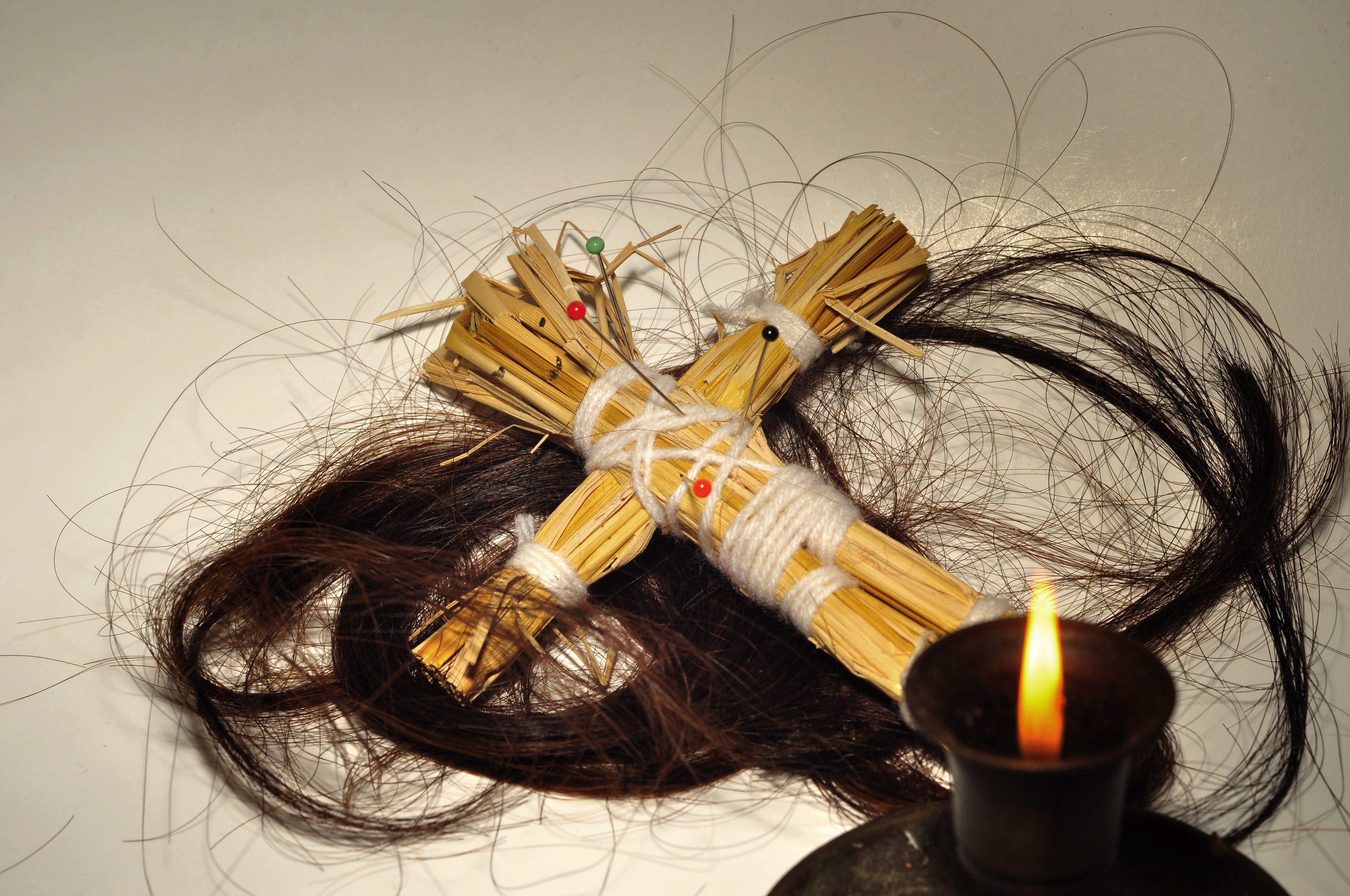 как делать приворот на волос